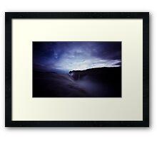 At Lands End III Framed Print