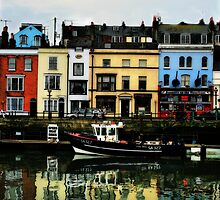 Weymouth Quay by Polly x