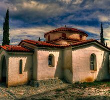 Rural Church by GeorgeGrivas