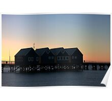 Busselton Sunset HDR Poster