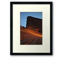Red Rocks Amphitheater Morrison, Colorado Framed Print