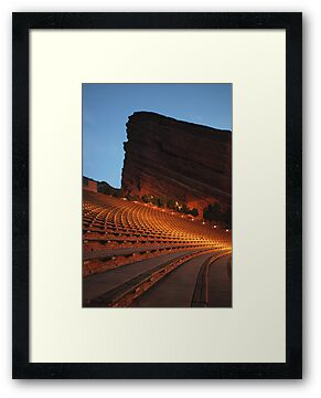 Red Rocks Amphitheater Morrison, Colorado by Paul Crossland