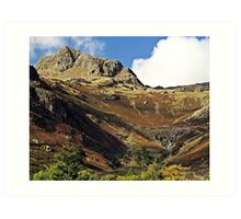 There is a pub at the bottom of this.. Art Print