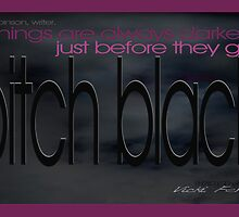 Pitch Black © Vicki Ferrari Photography by Vicki Ferrari