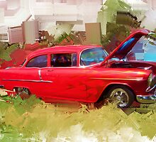 55 Chevy by ezcat