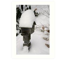snowed in Art Print