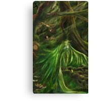 Woodland Green Canvas Print