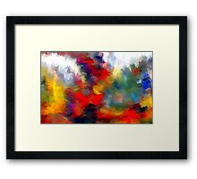 From The Painting Easel #1 Redo Framed Print