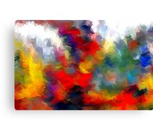 From The Painting Easel #1 Redo Canvas Print