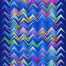 Blue zigzag by RosiLorz
