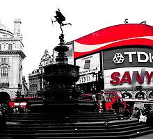 Piccadilly Circus by CRGArtDesign