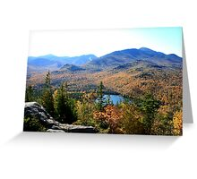 Heart Lake From Mount Jo Greeting Card