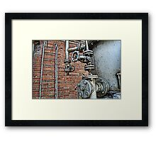 Industrial Zone Framed Print