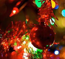 Christmas Bokeh II by Aishling O'Neill
