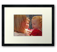 Christmas Is For Family Framed Print