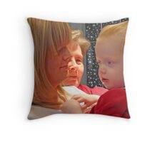 Christmas Is For Family Throw Pillow