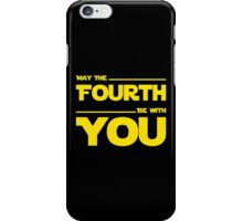 May The Fourth Be With You - Stars Wars Parody for Geeks iPhone Case/Skin