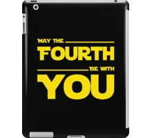 May The Fourth Be With You - Dark Geek T-Shirt iPad Case/Skin