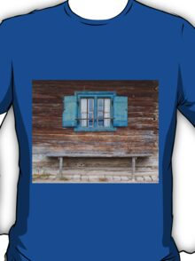 Window and Bench T-Shirt