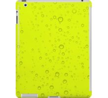 Neon Yellow Water iPad Case/Skin