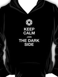 Keep calm join the dark side T-Shirt