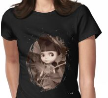 HIding on my T-Shirt Womens Fitted T-Shirt