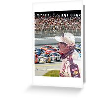 Simple Man - I'll Always Be Watching Over Greeting Card