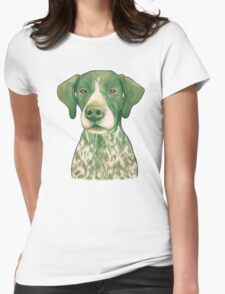 Jola #02 - German Short-Haired Pointer Womens Fitted T-Shirt