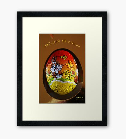 Happy Easter ! Framed Print