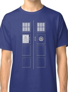 I am the Police Box Classic T-Shirt