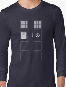 I am the Police Box Long Sleeve T-Shirt