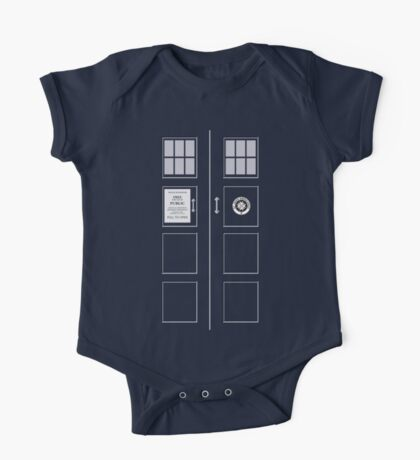 I am the Police Box One Piece - Short Sleeve