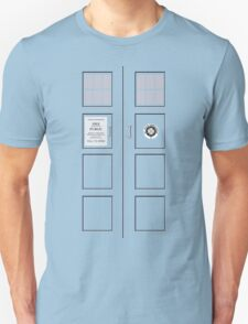 I am the Police Box Unisex T-Shirt