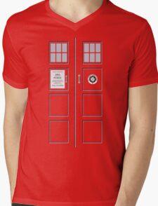 I am the Police Box Mens V-Neck T-Shirt