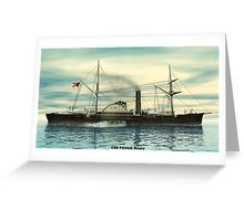 CSS Patrick Henry Greeting Card