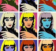 Face pop-art by Vladmax