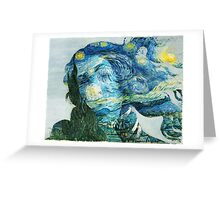 Venus Van Gogh  Greeting Card