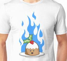 Flaming Pudding Unisex T-Shirt