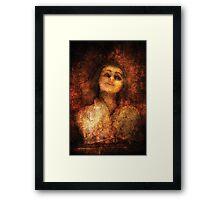 Meet Ms Creepy Framed Print