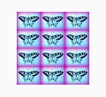 purple and blue butterflies Unisex T-Shirt