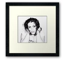 me~ Framed Print