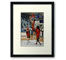 Slam Dunk 2 Framed Print