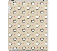 Coffee Pattern - Drinks Series iPad Case/Skin