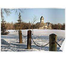 Winter in Assiniboine Park Poster