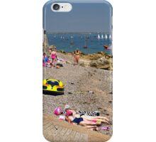 Seaview Beach from the Slipway iPhone Case/Skin