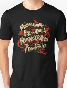 SyFy Monster Movie Mash Halloween T-Shirt