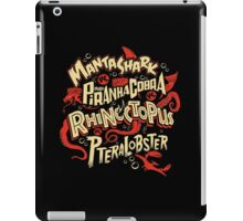 SyFy Monster Movie Mash Halloween iPad Case/Skin