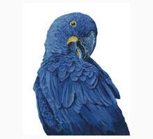 Hyacinth Macaw original portrait T-Shirt