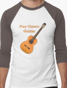 Play  Classic Guitar Men's Baseball ¾ T-Shirt