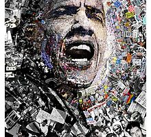 """I Am Not A Perfect Man"", Obama Civil Rights and Protest Collage by O O"